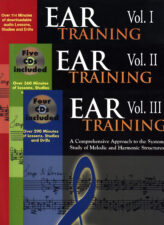 Ear Training: Vol. I-III Special Package Discount