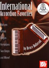 International Accordion Favorites Waltzes, Polkas, Tangoes, Hornpipes, Two-steps and more!