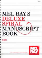 Mel Bay's Deluxe Spiral Manuscript Book