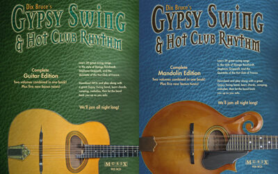 New Gypsy Swing & Hot Club Rhythm Complete books